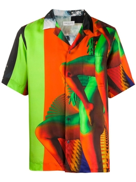 Dries Van Noten - Multicolored Legs Bowling Shirt - Men