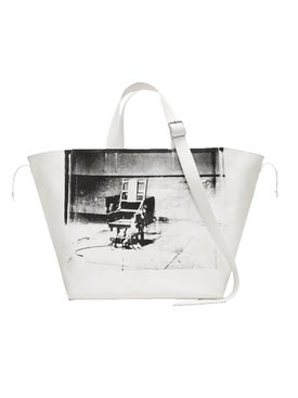 Calvin Klein 205w39nyc - Calvin Klein X Andy Warhol Electric Chair Tote Bag - Men