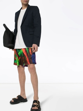 Multicolored Legs Print Shorts
