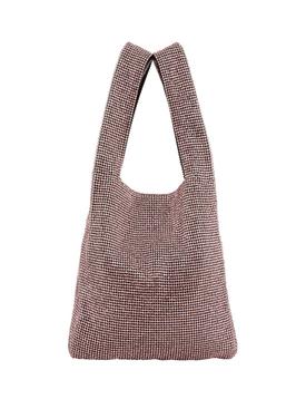 Embellished Mini Wangloc 'Thank You' Shopper Tote