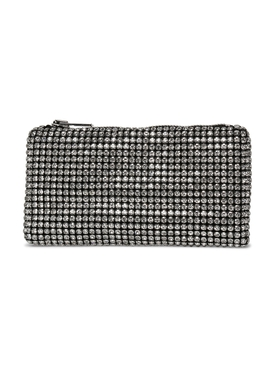 HEIRESS CLUTCH WHITE RHINESTONE