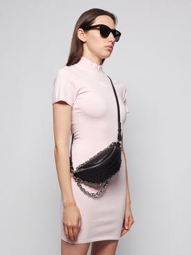 The Attica Tweed Hybrid Belt Bag, Black