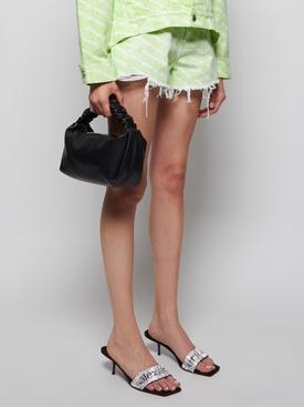 Small Scrunchie Bag, Black