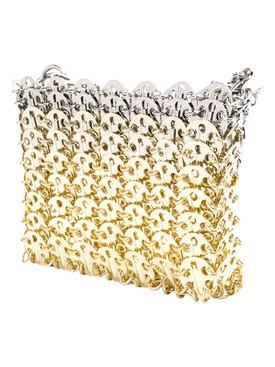 Nano Iconic 1969 Gold and Silver Chainmail bag