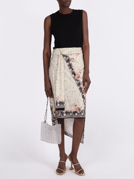 NEUTRAL JUPE MID LENGTH SKIRT
