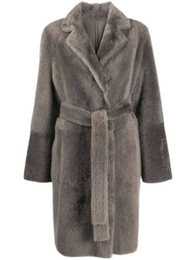 Yves Salomon - Mid-length Textured Coat - Women
