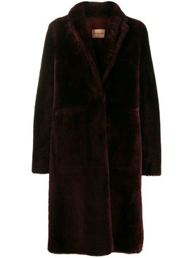 Yves Salomon - Deep Mulberry Fur Coat - Long
