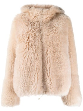 Yves Salomon - Hooded Fur Coat - Women
