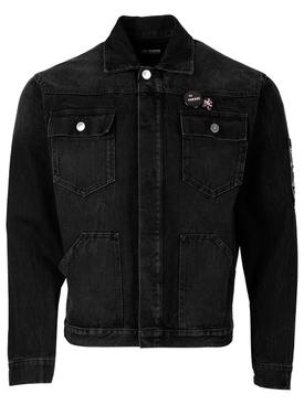 Denim Workwear jacket black