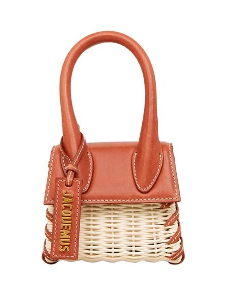 Jacquemus Le Chiquito Handbag, Dark Red Dark Red In Brown