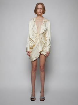 La Robe Bahia Mini Dress, Champagne