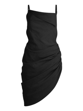 LA ROBE SAUDADE MINI DRESS, BLACK