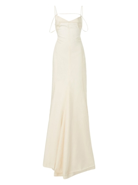 LA ROBE CAMARGUE DRESS, LIGHT BEIGE