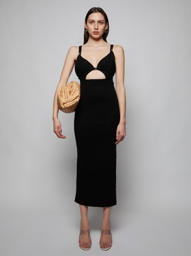 LA ROBE PILA DRESS, BLACK