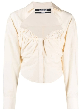 La Chemise Tovallo Blouse, off-white