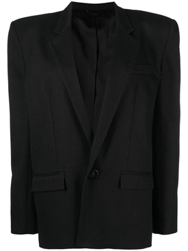 Diagonal jacket, black