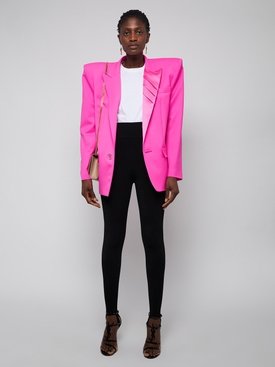 fuchsia oversize blazer