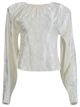Blouse Blurred jacquard