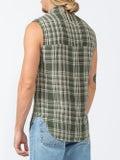 Wales Bonner - Plaid Sleeveless Shirt - Men