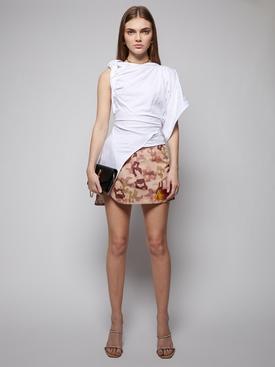 Giana camouflage print mini skirt, sand