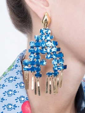 lhd x aurelie bidermann pin earrings