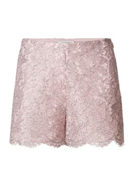 Valentino - Lace Shorts - Women