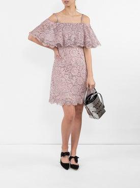 Valentino - Cotton-blend Lace Minidress - Women