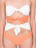 Lisa Marie Fernandez - Triple Poppy Maillot Orange - Women