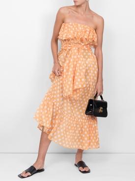 sabine eyelet dress ORANGE