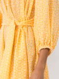 Lisa Marie Fernandez - Laure Daisy Eyelet Dress Yellow - Women