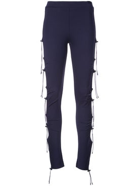 Puma - Ruched Leggings - Women