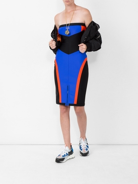 scuba pabel biker dress
