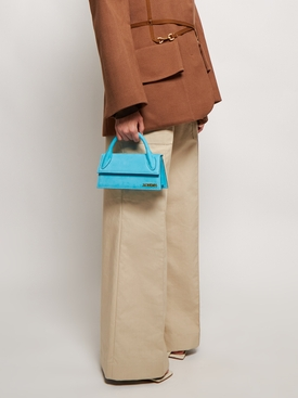 LE CHIQUITO LONG TOP HANDLE BAG Turquoise