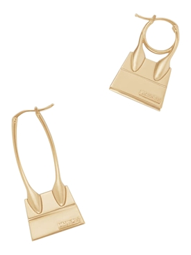 GOLD-TONE LES CREOLES CHIQUITO NOEUD EARRINGS
