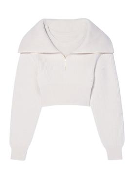 La Maille Risoul Sweater White