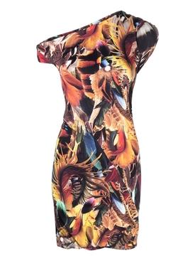 Twisted Multicolor Mini Dress