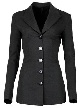 Charcoal Grey Blazer Jacket
