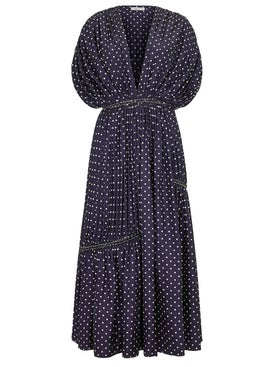 Gabriela Hearst - Winston Dress Blue - Women