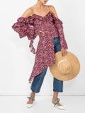 Magda Butrym - Pireus Blouse Purple - Women