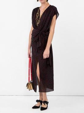 Magda Butrym - Diablo Black Polka-dot Dress - Women