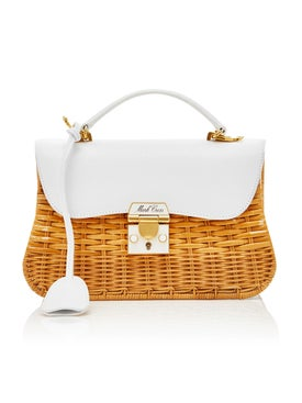 Mark Cross - Dorothy Rattan Bag - Women