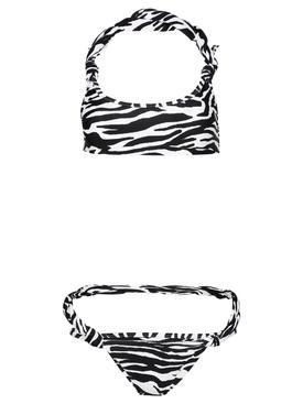 Zebra Print Bikini Set