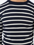 Holiday - Striped Crew Neck Jumper - Men
