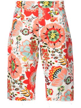 Holiday - Floral Shorts Red - Men