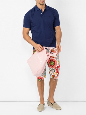floral shorts RED