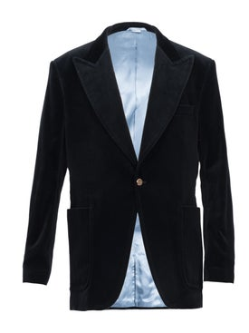 Gucci - Velvet Formal Jacket Black - Men