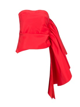 Rosie Assoulin - Rosie Assoulin X The Webster Waterfall Top Red - Women