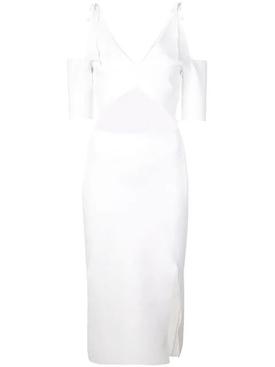 cut-out midi dress