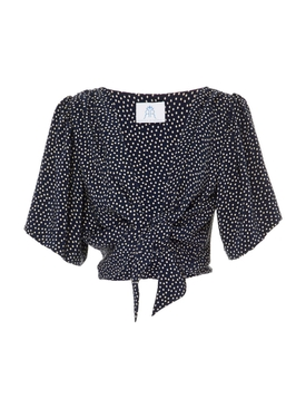 The Talitha Blouse NAVY