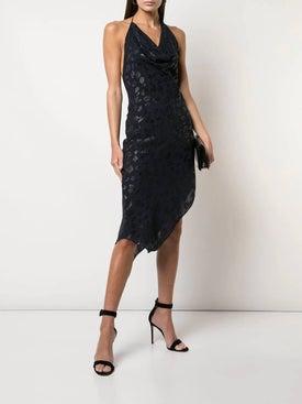 Cushnie - Plunge Polka Dot Dress - Cocktail